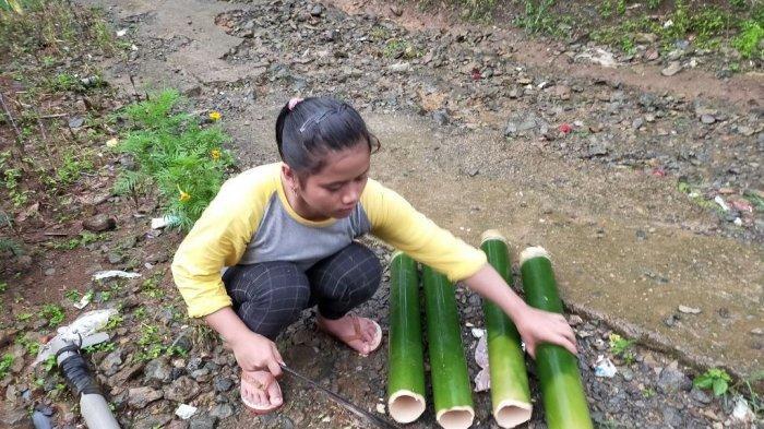 Nasi Humbal dari Loksado HSS, Dimasak Pakai Bambu 100 Persen Alami, ini yang Harus Disiapkan
