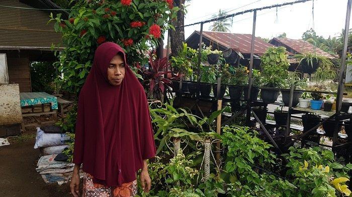 Tak Kuat Lagi Bertani, Warga Desa Purut Ini Pilih Tekuni Bunga Hias