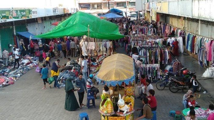 Tersedia Puluhan Jenis Barang, Pasar Kaget di Banjarmasin Jadi Maget