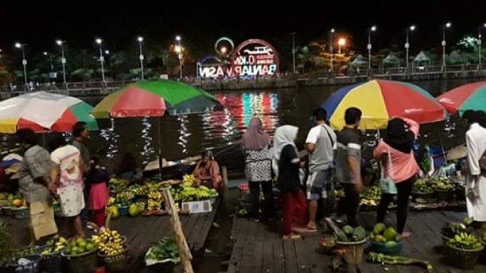 Pasar Terapung, Magnet Wisata Siring Sungai Martapura