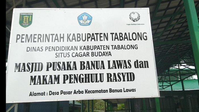 Masjid Pusaka Banua Lawas, Wisata Religi dan Cagar Budaya di Tabalong