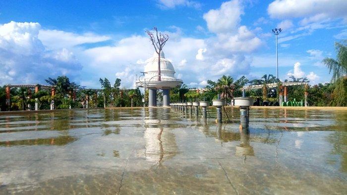 Fasilitas di Tanjung Bersinar Park Manjakan Pengunjung