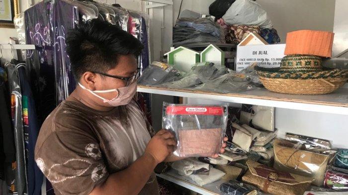 Berdayakan Masyarakat, Produksi Face Shield Capai Ratusan Per Hari