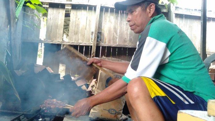 Wisata Kuliner Kalsel, Sate Kambing Bu Suman Batulicin Kalsel Hanya Buka Tiap Selasa