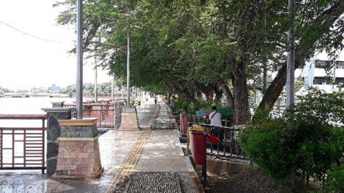 Siring Sungai Martapura  Selalu Ramai di Akhir Pekan