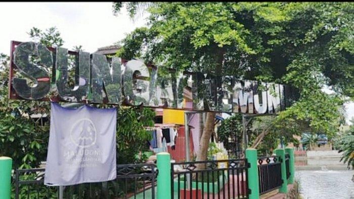 350 Rumah Warga dari Enam RT Dicat Warna Warni, Lahirlah Nama Kampung Pelangi Banjarbaru
