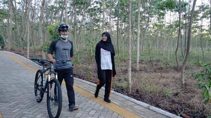 Taman Hutan Hujan Tropis di Banjarbaru Cocok Buat Track Jalan Santai dan Jogging atau Sepeda Gowes