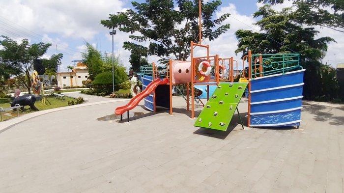 Tersedia Mainan Edukatif di Taman Askari Kota Kapuas untuk Melatih Tumbuh Kembang Anak