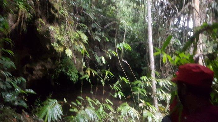 Lorong Gua Angin di Kawasan Gua Bramban Tapin, Tembus ke Jalan Angkutan Tambang Batu Bara