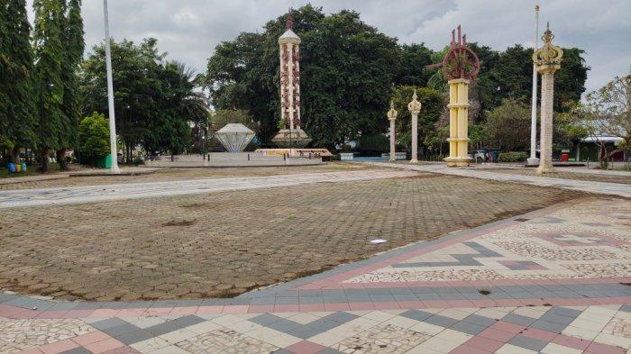 Wisata Kalsel, Ikon Permata Air Mancur Berlian Daya Tarik Taman CBS Martapura Kabupaten Banjar