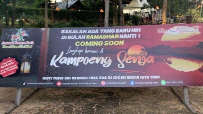 Berbuka Puasa Sambil Sedekah Bersama Anak Yatim di Kampung Senja Amanah Borneo Park Banjarbaru