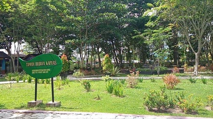 Wisata Kalteng Taman Budaya Kapuas atau Taman Raja Bunu, Wadah Kegiatan Pertunjukan Seni Budaya