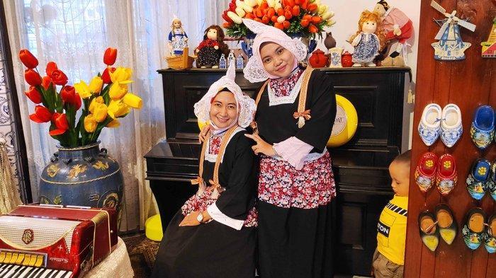 De Koppel Banjarmasin Menyewakan Pakaian Tradisional Belanda Berbagai Ukuran Seharga Rp 20 Ribu
