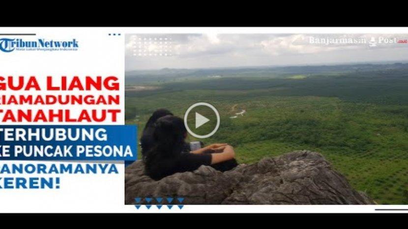 VIDEO Eksotik Gua Liang Kuda-kuda Batu Besar di Kintap Kabupaten Tanahlaut Kalsel yang Memukau