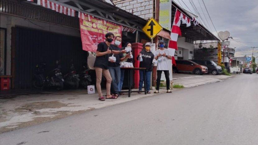 Kafe Jadul Kopi Ruang Hati di Banjarmasin, Berbagi Nasi dan Snack Tiap Jumat