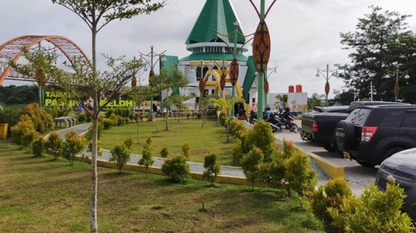 Taman Pasuk Kameloh Palangkaraya Kalteng, Tempat Favorit Bersantai Warga Kota Cantik
