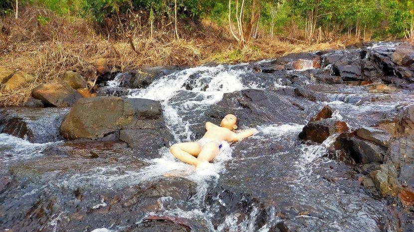 Di Air Terjun Janda Beranak Tiga, Semakin Mendaki Semakin Menakjubkan