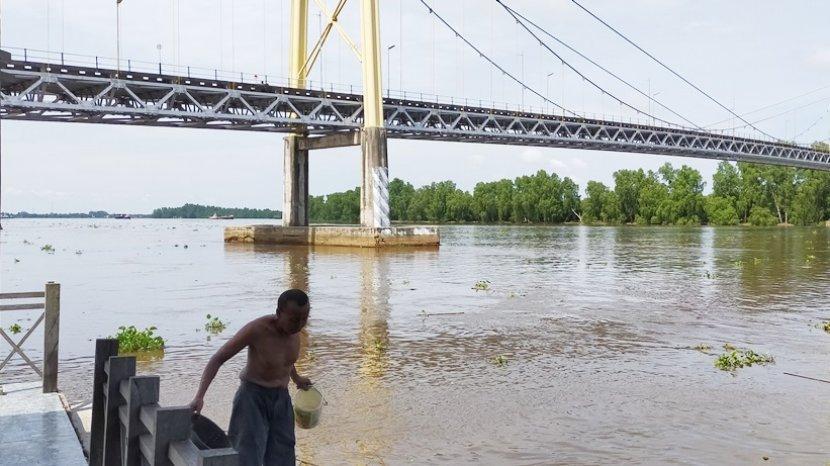 Pemkab Batola Rencanakan Bangun Fasilitas ini di Lokasi Wisata Alam Bawah Jembatan Barito