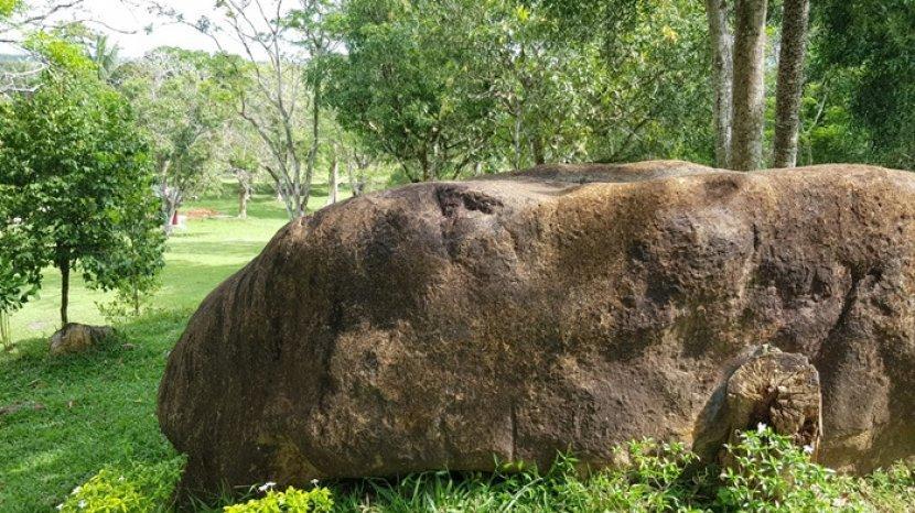 Elok Taman Permana Pelaihari Kabupaten Tanahlaut, Instagramable dan Ada Batu Raksasa