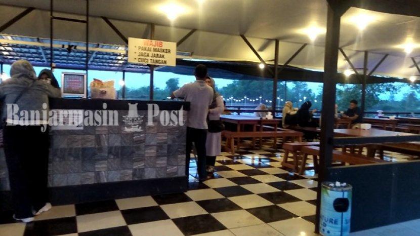 Ragam Fasilitas di Danau Wisata Kuliner Cangkir Coffee Liang Anggang, Ada ATV dan Perahu Bebek