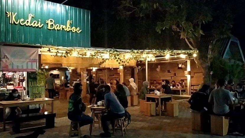 Kedai Bamboe, Tongkrongan Asik Bernuansa Etnik di Banjarmasin