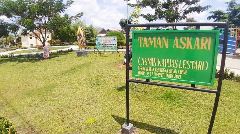 Taman Askari Kapuas Sering Dimanfaatkan Warga Luar Daerah untuk Istirahat dan Berfoto-foto