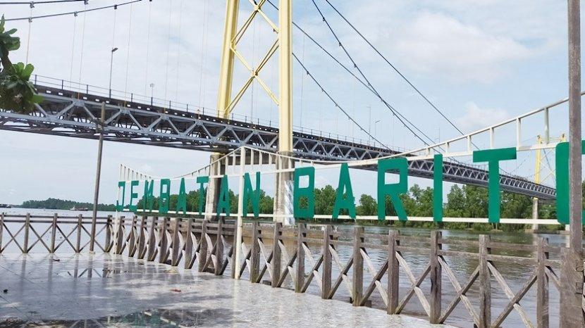 Pengelola Wisata Bawah Jembatan Barito akan Tambah Spot-spot Foto