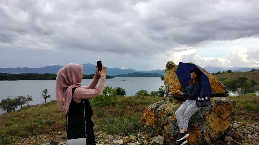 Wisata Kalsel Bukit Batu Aranio Kabupaten Banjar, Track yang Tak Dilewatkan oleh Komunitas Trail