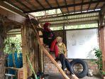 Wisata Kalsel, Akses ke Rumah Alam Sungai Andai Terputus dan Pepohonan Banyak yang Mati