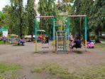 Wisata Kalsel, Asyiknya Bersantai Keluarga di Taman CBS Martapura, Ada Fasilitas Wahana Bermain Anak