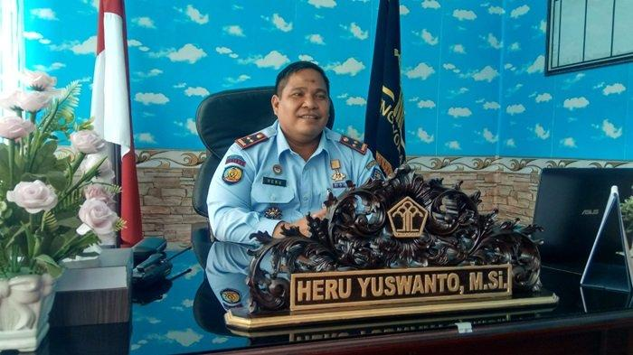 Profil Kepala Lapas Kelas IIB Tanjung Heru Yuswanto, Merintis Karir Jabatan Mulai di LPKA Martapura