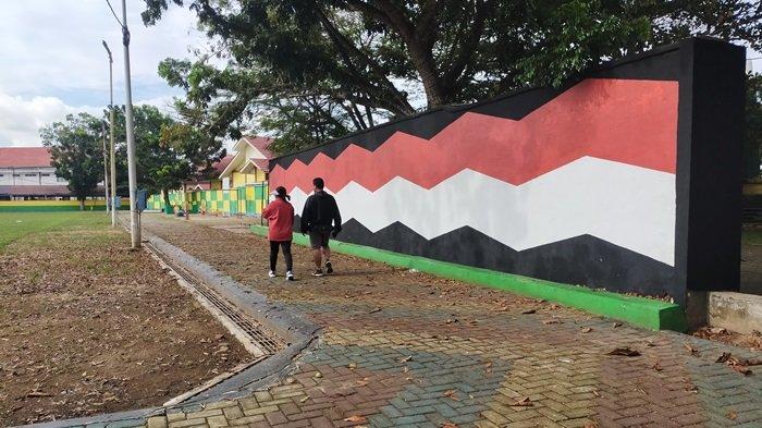 Lapangan Pahlawan Amuntai Kabupaten HSU, Ada Lintasan Lari dan Jogging Track