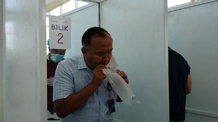 KalselPedia - Layanan Tes GeNose Covid-19 Biaya Murah di Bandara Internasional Syamsudin Noor