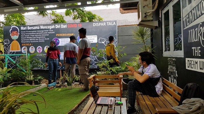 KalselPedia - Taman Fun Corner, Saptic Tank Ditata Jadi Taman Kantor Dinas Pariwisata Tanahlaut