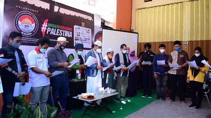 KalselPedia -  ACT Kalsel Deklarasikan KKIPP Banjarmasin, Dukung Perjuangan Pembebasan Palestina