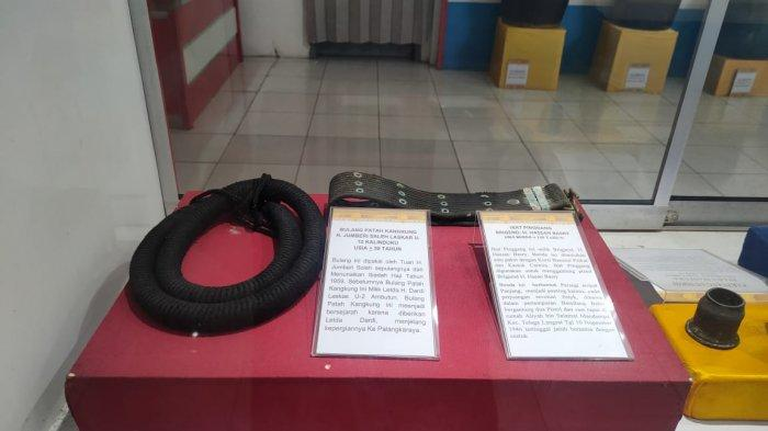 KalselPedia - Museum Rakyat Hulu Sungai Selatan, Dulunya Merupakan Gedung Juang ALRI Divisi IV - Peninggalan-benda-benda-bersejarah-Museum-Rakyat-Kabupaten-HSS-05.jpg