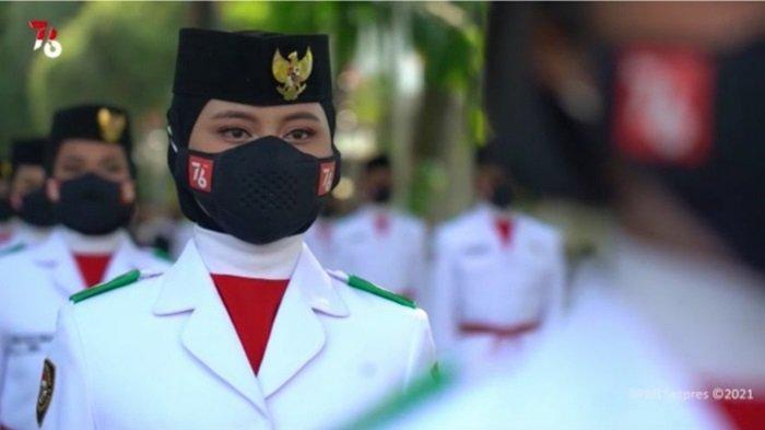 KalselPedia - Profil Regyna Paskibraka Nasional 2021 asal Kota BanjarbaruKalimantan Selatan