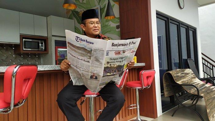 Rektor Universitas Lambung Mangkurat (ULM) Prof H Sutarto Hadi.