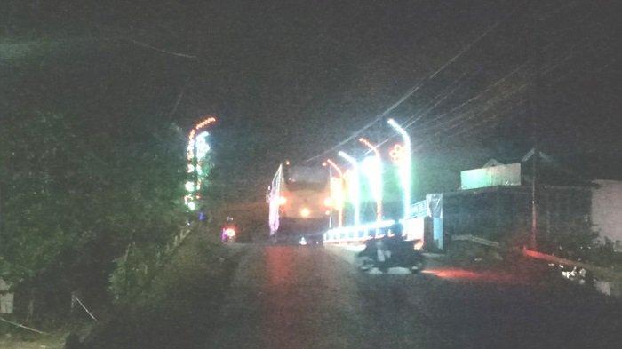 Malam Hari Kotabaru Semarak Lampu Hias, Berikut Titik-titik Pemasangan Lampu Hias