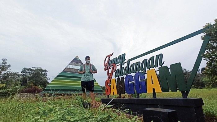 KalselPedia - Taman Palidangan Sanggam, Tempat Bersantai Baru di Paringin Kabupaten Balangan