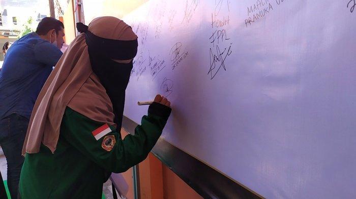 KalselPedia - Deklarasi KKIPP Banjarmasin Dukung Perjuangan Pembebasan Palestina, Berikut Visi Misi