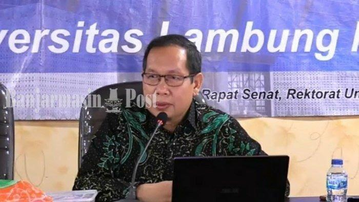 Profil Wakil Rektor I ULM Prof H Aminuddin Prahatama Putra, Berikut Riwayat Latar Pendidikannya
