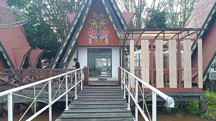 Guest House Kota Air, Penginapan Unik di Tepi Sungai Kualakapuas Kalteng