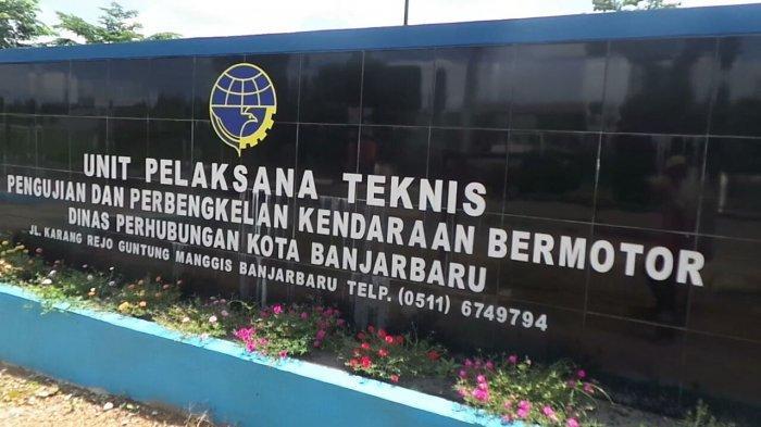 Unit Pelaksana Tugas (UPT) Pengujian & Perbengkelan Kendaraan Bermotor (PPKB) Dishub Banjarbaru