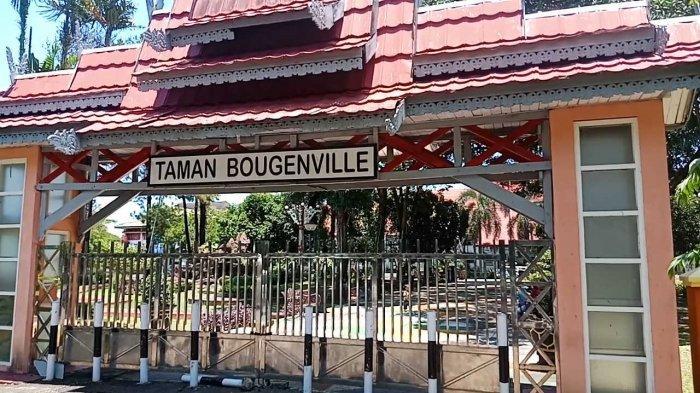 Taman Dengan Patung Pelanduk Hanya Ada di Taman Bougenville Dibuat