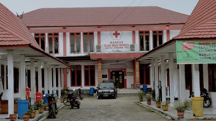 Markas PMI Kabupaten Kotawaringin Timur Kalteng di Jalan A Yani Kota Sampit