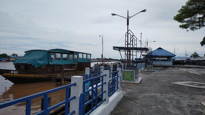 Profil Pelabuhan Rambang Palangkaraya di Sungai Kahayan Kalimantan Tengah