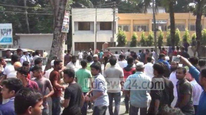 Unggahan Penistaan Agama di FB Diduga Picu Kerusuhan di Bangladesh, Kuil dan Rumah Warga Dibakar