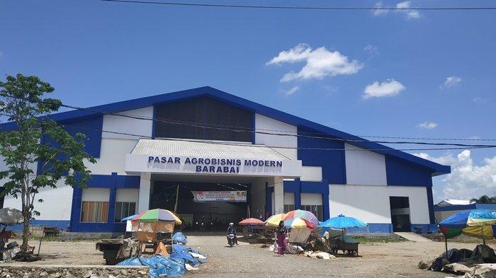 Pasar Agrobisnis Modern di Barabai, Pasarkan Hasil Pertanian dan Perikanan di Hulu Sungai