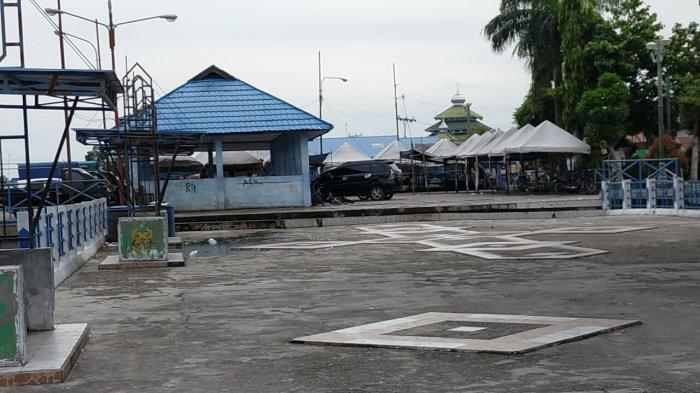 Pelabuhan Rambang Palangkaraya Kalimantan Tengah Ditata Jadi Kawasan Wisata Kuliner Sungai
